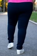 Макси спортно-елегантен панталон с ластик в талията