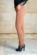 Спортно-елегантен дамски панталон в керемиден цвят