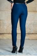 Дамски еластичен спортн-елегантен панталон в цвят Navy