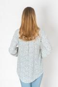 Ежедневна дамска блуза на красиви цветенца