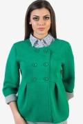 Дамски блейзър в зелен цвят