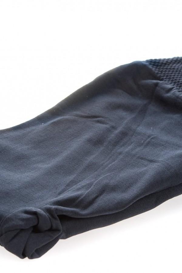 Ватиран чорапогащник в черно