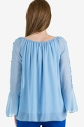Шифонена елегантна блуза