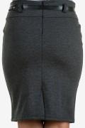 Спортна дамска сива пола
