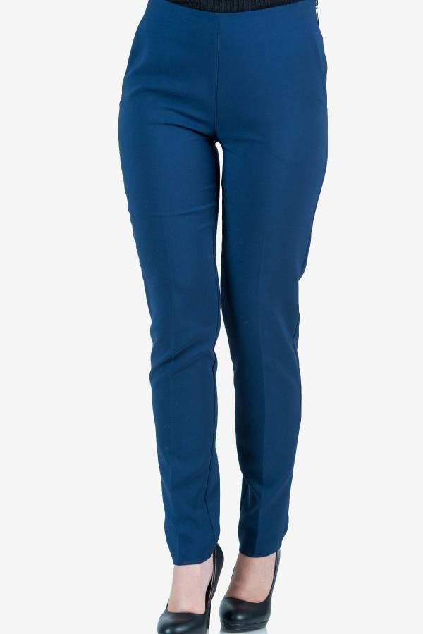 Елегантен панталон в син цвят