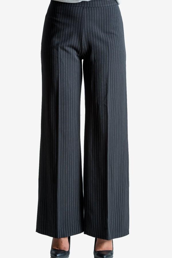 Дамски панталон в райе