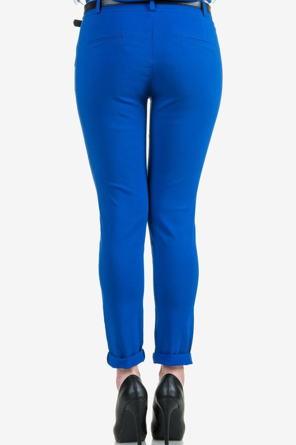 Дамски панталон в син цвят