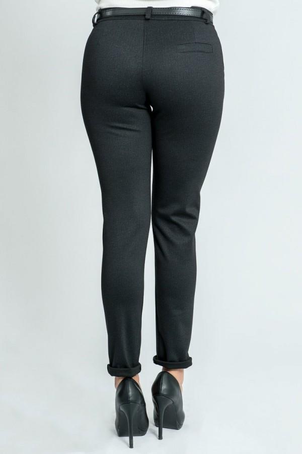 Дамски панталон в графитен цявт