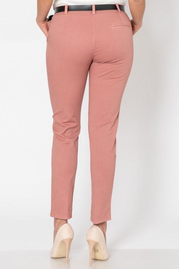 Спортно-елегантен дамски панталон в цвят пудра