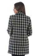 Дамско палто в син цвят