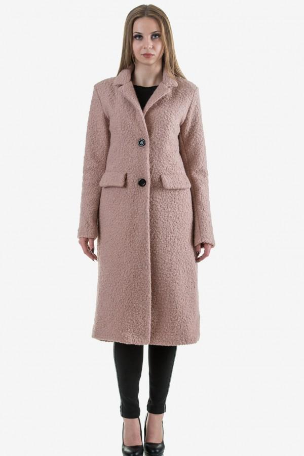 Дълго палто от букле