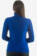 Дамско поло в син цвят
