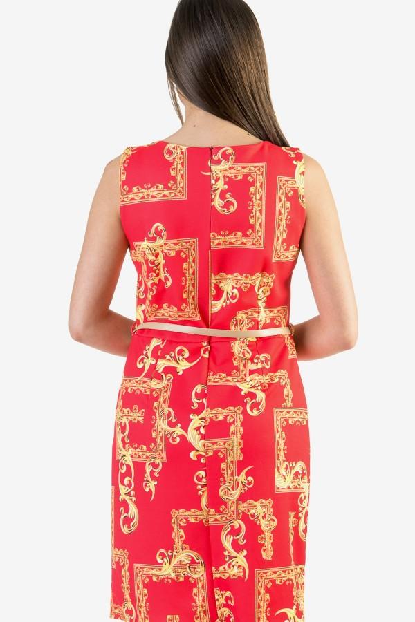 Ежедневна дамска рокля с мотиви на Версаче