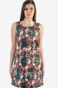 Макси дамска рокля на цветя